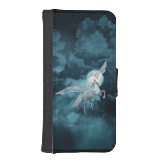 Moonlight pegasus iPhone SE/5/5s wallet case