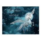 Moonlight pegasus postcard