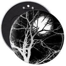 Moonlight Pinback Button