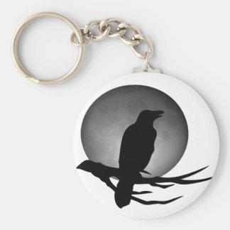 moonlight raven key ring