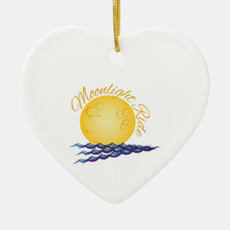 Moonlight Ride Christmas Ornament