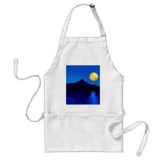 Moonlight rising apron