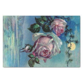 "Moonlight Roses A Tissue Paper 10"" X 15"" Tissue Paper"