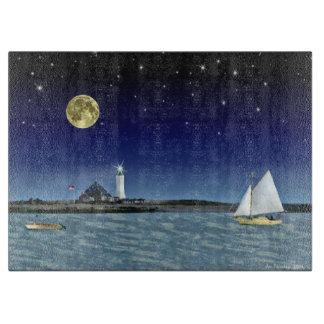 Moonlight Sail Cutting Board