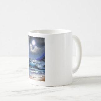 Moonlight Seascape Coffee Mug