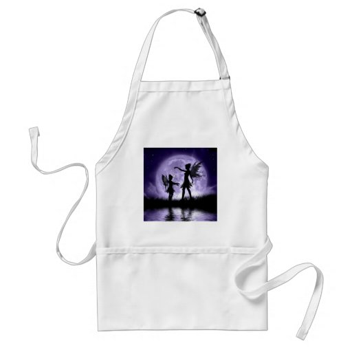 Moonlight Sihouettes Apron