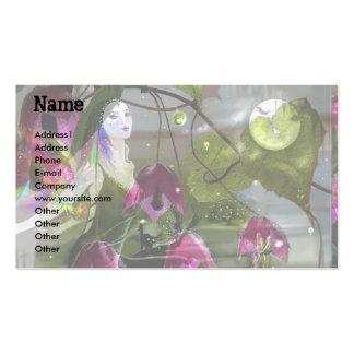 Moonlight Singer Business Card Template