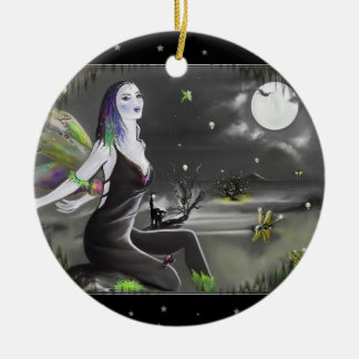 Moonlight Singer Fairy Christmas Ornament