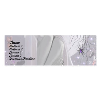 Moonlight Sleeper and Spider! Pack Of Skinny Business Cards