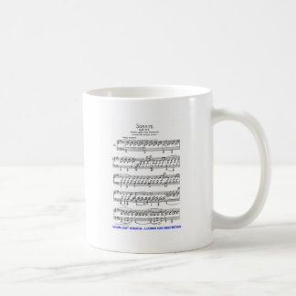 Moonlight-Sonata-Ludwig-Beethoven Coffee Mug
