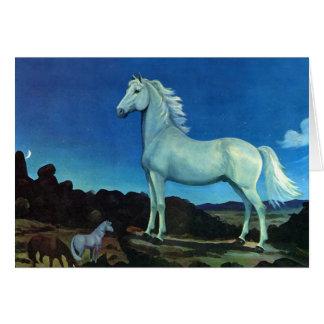 Moonlight Stallion Card