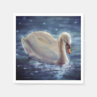 Moonlight Swan Disposable Napkin
