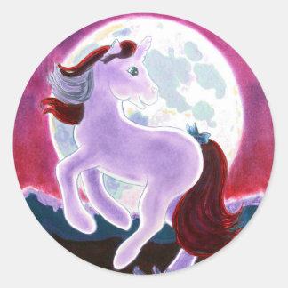 Moonlight Unicorn Stickers
