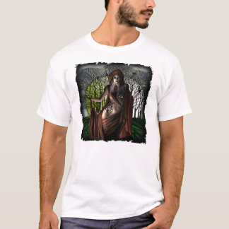 Moonlight Vamp - Melange Ringer T-Shirt