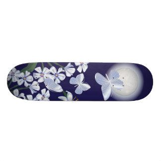 Moonlit Butterflies 18.1 Cm Old School Skateboard Deck
