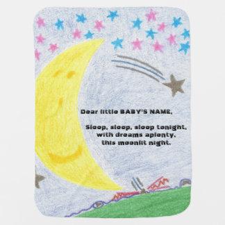 Moonlit Dreams Baby Nursery Blanket Pramblanket