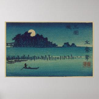 Moonlit Grove Poster
