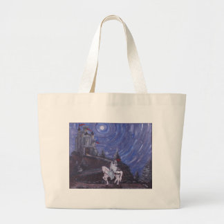 MOONLIT KNIGHT LARGE TOTE BAG
