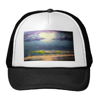 Moonlit Seascape Cap