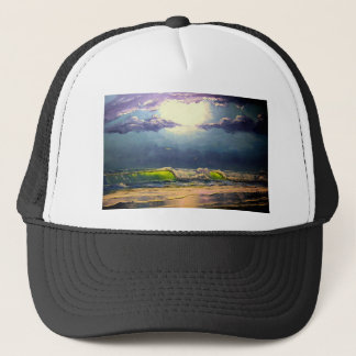 Moonlit Seascape Trucker Hat