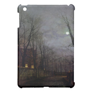 Moonlit Street Scene, 1882 (oil on canvas) 2 iPad Mini Cases