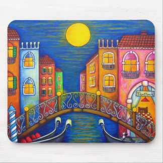 Moonlit Venice Mouse Pad