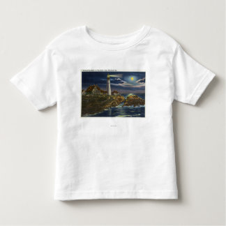 Moonlit View of the Portland Head Lighthouse T Shirts
