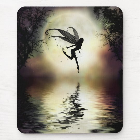 Moonlit Water Mousepad
