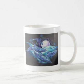 Moonlite Dolphins Coffee Mugs