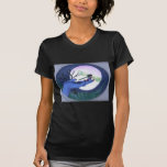 Moonlite Hand and Dragonfly Print Tee Shirts