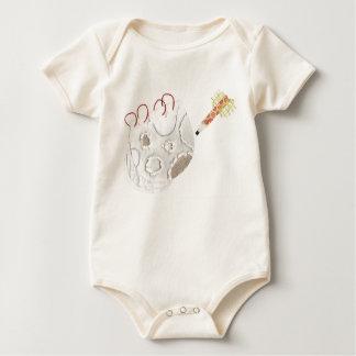 Moonpad and Pen No Background Organic Babygrow Baby Bodysuit