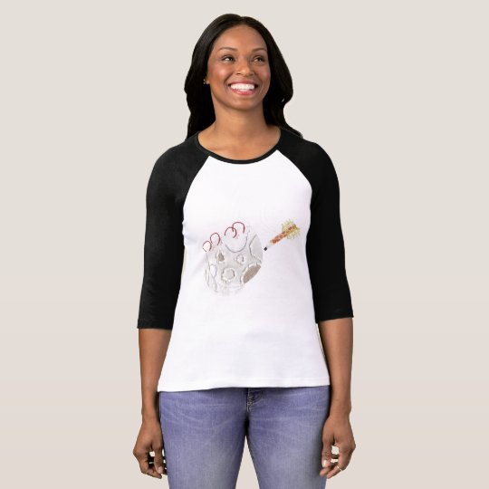 Moonpad and Pen No Background Women's Top