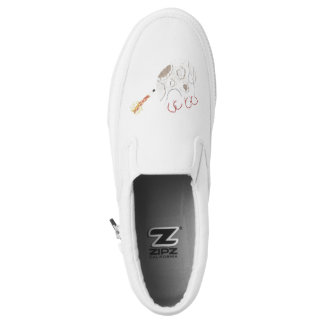 Moonpad and Pen Women's Slip On Shoes