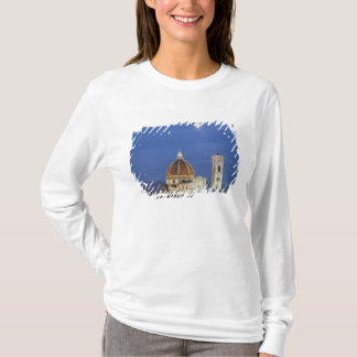 Moonrise and Florence Cathedral, Basilica di T-Shirt