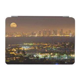 Moonrise over the San Diego skyline iPad Mini Cover