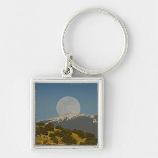 Moonrise over the Sangre de Cristo Mountains, Key Ring