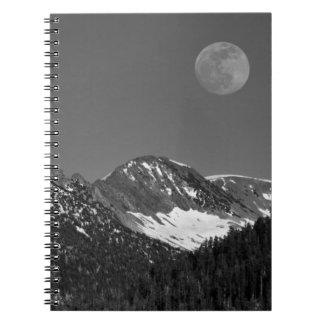Moonrise, Sierra-Nevada, Glacier Point Vista Notebooks