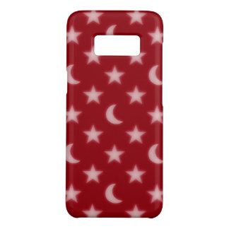 Moons and stars pattern Case-Mate samsung galaxy s8 case