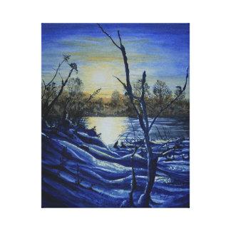Moonscape Canvas Print