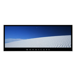 Moonscape Poster