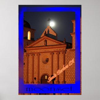 moonset print