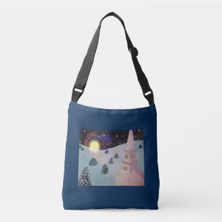 Moonshadow Winter Crossbody Bag