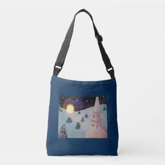 Moonshadow Winter Tote Bag