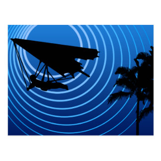 moonshine hang gliding postcard