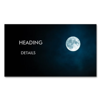 MoonShine Magnetic Business Card