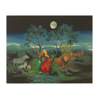 Moonshine Sonata 2006 Wood Print