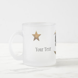 MoonShyne Frosted Glass Coffee Mug