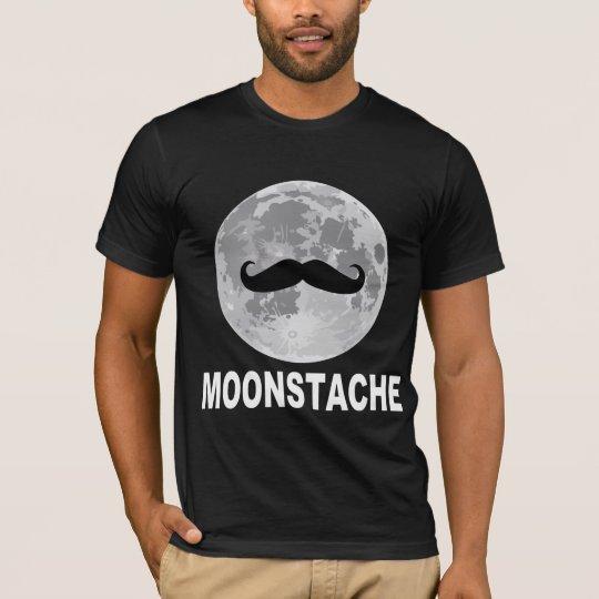 Moonstache (Moon & Moustache) T-Shirt