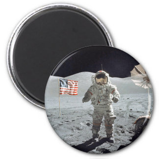 Moonwalk 6 Cm Round Magnet