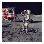 Moonwalk Apollo 17 Poster